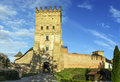 Lutsk high castle lutsk ukraine also known as lubart s began its life in the mid th century as the fortified seat of gediminas son Stock Photos