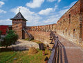 The lutsk or lubarts castle in lutsk ukraine Stock Photos