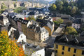 Luxembourg city  center Royalty Free Stock Images