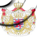 Luxembourg coat of arms. Royalty Free Stock Photo