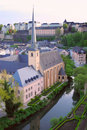 Luxembourg monastery Stock Photography