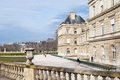 Luxembourg palace paris early spring Stock Photos