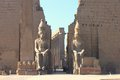 Luxor temple temle is the second biggest in city egypt Stock Photography