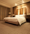 Luxuary hotel room Royalty Free Stock Photos