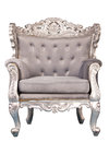 Luxurious armchair isolated Stock Image