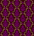Luxurious  brocade pattern Royalty Free Stock Images