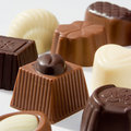 Luxurious chocolates Royalty Free Stock Photo