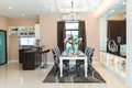 Luxurious dining room Royalty Free Stock Photo