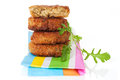 Luxurious falafel background. Royalty Free Stock Photography