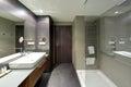 Luxurious hotel resort bathroom