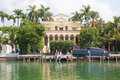 Luxurious mansion in Miami, Florida Royalty Free Stock Photo