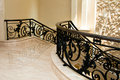 Luxurious Marble Stairway Stock Images
