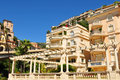 Luxurious residential area in monte carlo monaco Royalty Free Stock Photography