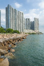 Luxurious residential building in Hong Kong Royalty Free Stock Photo