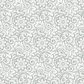 Luxurious seamless floral wallpaper vector Stock Photo