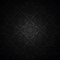 Luxurious seamless wallpaper vector dark Royalty Free Stock Photo