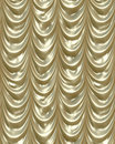 Luxurious shiny Gold curtains Royalty Free Stock Images