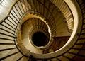 Luxurious Spiral Staircase Royalty Free Stock Photo