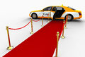 Luxurious Taxi concept Royalty Free Stock Photo