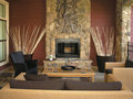 Luxury 9 - Living Room 1 Royalty Free Stock Photos