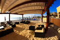 A luxury all inclusive beach resort at morning Royalty Free Stock Photography
