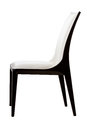 Luxury arm chair white clipping path Royalty Free Stock Photography