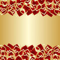 Luxury background for Valentines day. Royalty Free Stock Image