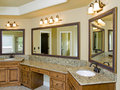 Luxury Bathroom double sink Royalty Free Stock Photo