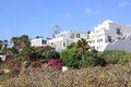 Luxury beachfront holiday villas atlantic ocean Royalty Free Stock Photography