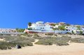 Luxury beachfront holiday villas atlantic ocean Stock Photos