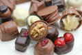 Luxury Belgium Chocolates Stock Images