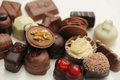 Luxury Belgium Chocolates Royalty Free Stock Photography