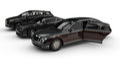Luxury car fleet