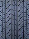 Luxury car tire tread Stock Photo