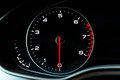 Luxury car& x27;s dasboard part - tachometer.