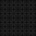 Luxury charcoal floral wallpaper Royalty Free Stock Photos