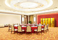 Luxury chinese banqueting hall Royalty Free Stock Photo