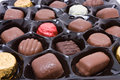 Luxury Chocolates Royalty Free Stock Images