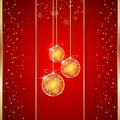 Luxury christmas background the vector Stock Photography