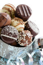 Luxury Christmas Chocolates Royalty Free Stock Images