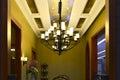 Luxury classical chandelier, art lighting,art light, Art lamp, Royalty Free Stock Photo