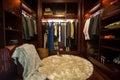 Luxury closet Royalty Free Stock Photo