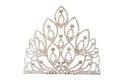 Luxury crown with diamonds jewelry. Royalty Free Stock Photo