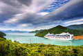 Luxury Cruise Ship Royalty Free Stock Photo