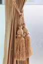 Luxury curtain and tassel for any use Stock Image