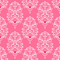 Luxury damask seamless vector pattern Royalty Free Stock Photo