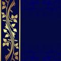 luxury dark blue background golden border presented 35489877 - Royal Wedding Time 2018