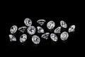 Luxury diamonds Royalty Free Stock Photo