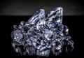 Luxury diamonds Royalty Free Stock Photo