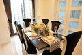 Luxury dining room Royalty Free Stock Photo